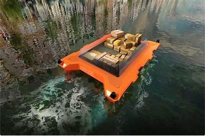 Mit Future Boats Cities Roboat Autonomous Amsterdam