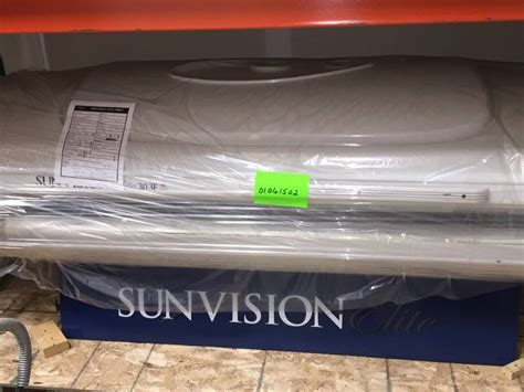 ets sunvision elite 30 3f 2006 used tanning bed auction