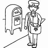 Mailman Clipart Coloring Clip Cliparts Sheet Drawing Occupation Pages Postman Jobs Printables Clipartpanda Labor Christmas Getdrawings Presentations Websites Reports Powerpoint sketch template