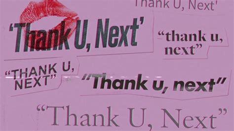 Thank U, Next (instrumental + Background