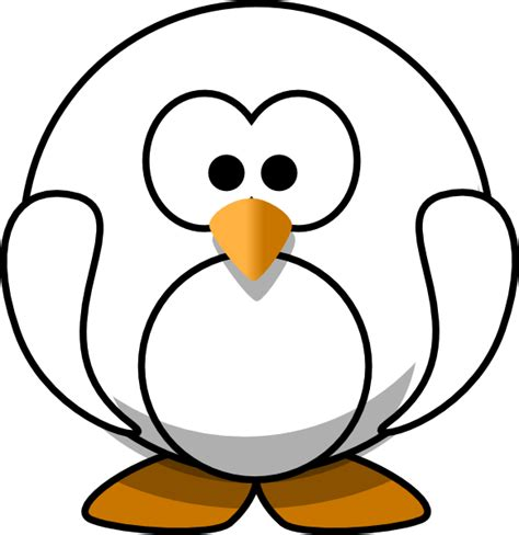 penguin clipart black and white black and white penguin clip at clker vector