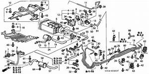Fuel Pipe  Ka  Kc  For 2003 Honda Odyssey 5