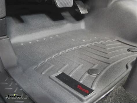 weathertech floor mats 2011 f150 weathertech front auto floor mat single black