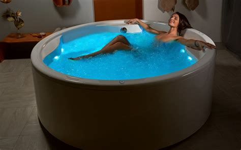 Spa For The Bathtub by Aquatica Allegra Wht Freestanding Hydrorelax Pro Jetted