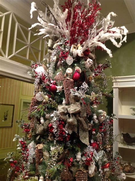christmas trees woodland images  pinterest