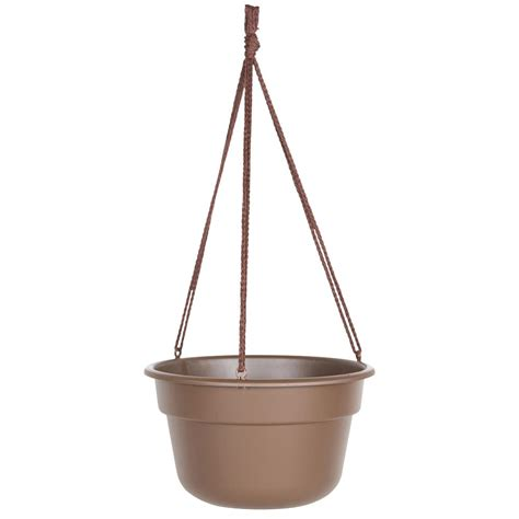 home depot hanging ls cobraco canterbury 12 in metal and coconut liner hanging