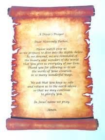 Diver's Prayer - Latitude 17 Scuba