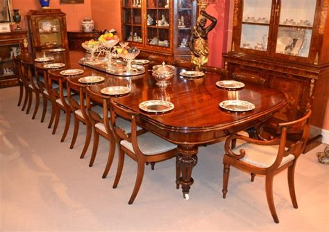 beautiful sets of antique dining tables and chairs now
