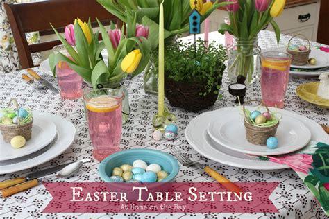 easter table settings easter table setting