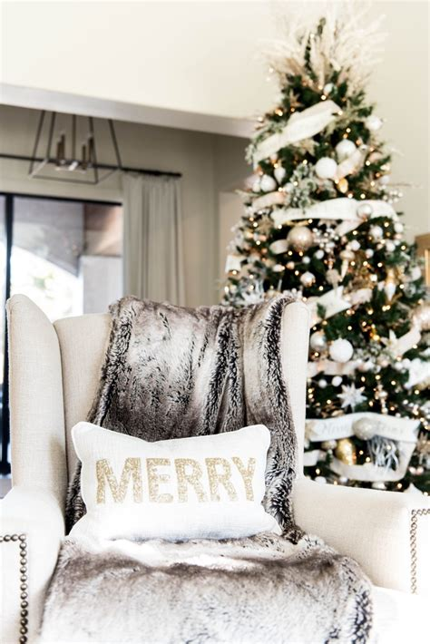 white christmas decor ideas  dont  boring