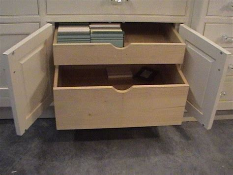 optional double natural pine wood pull  drawers design