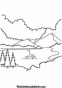 Free Views Coloring Pages | TheLittleLadybird.com