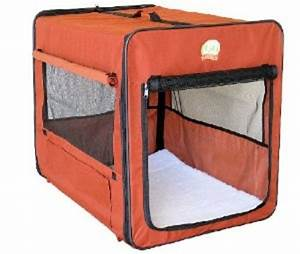 Go pet club dog soft crate brown ab43 crate new ebay for Cheap soft dog crates