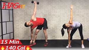 15 Min Abs And Obliques Workout Exercises For A Smaller