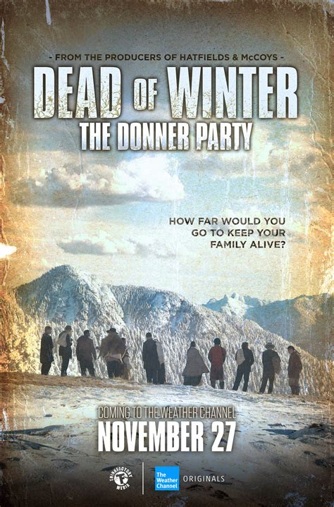 dead  winter  donner party  weather channel