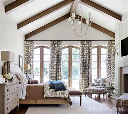 England Curtains Meets Mountain Cool Traditionalhome Furniture