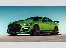 Shelby GT500 Mustang Revealed In Grabber Lime Ahead Of St