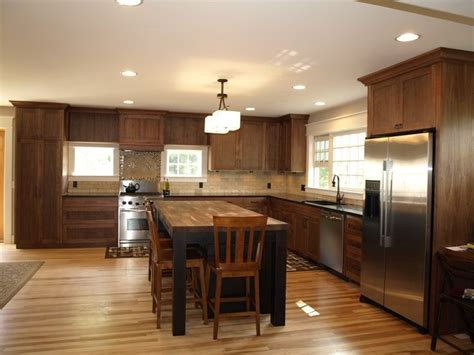 Restaining Kitchen Cabinets With Polyshades by Light Wood Floors With The Cabinets Could We Stain