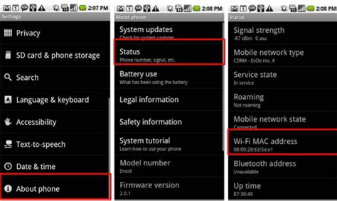 mac address android this is how someone can into your whatsapp account