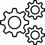 Cog Cogs Icon Gears Gear Transparent Mechanism