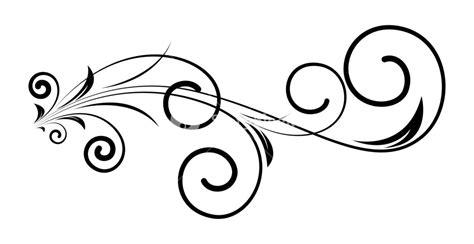 Decorative Swirls - decorative swirl elements vector design royalty free stock