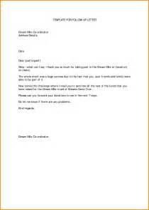 sle follow up letter after submitting a resume follow up resume letters exles