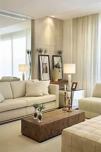 23, Best, Beige, Living, Room, Design, Ideas, For, 2021