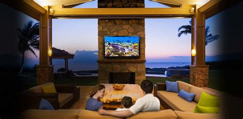 Experience An Outdoor Entertainment System Einteractive