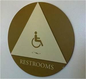Restroom Door Signs / California | California ADA Compliance
