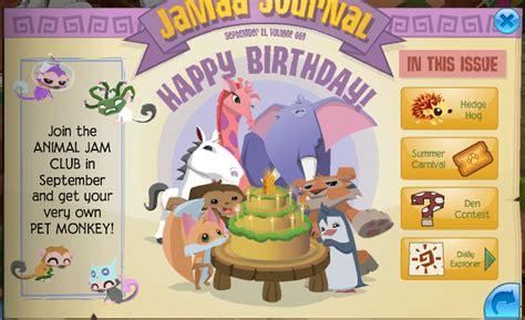 animal jam horse happy birthday aj  jamma journal