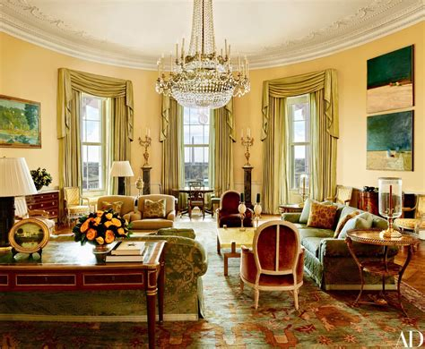 Dorothy Draper Furniture by Photos Obama Reveals Private Living Areas Of White House