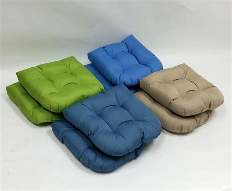 4 Pack Indoor Outdoor Seat Cushions Dining Patio Kitchen