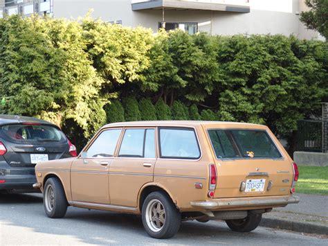 Datsun 510 Wagon by Parked Cars Vancouver 1971 Datsun 510 Wagon