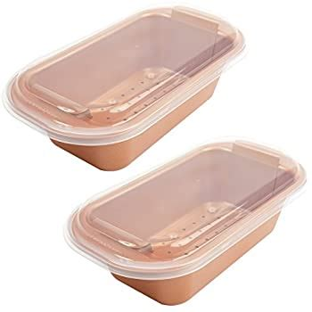 amazoncom copper chef  perfect loaf pan bogo kitchen dining