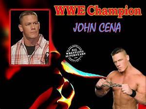 WWE Champion John Cena Wallpaper