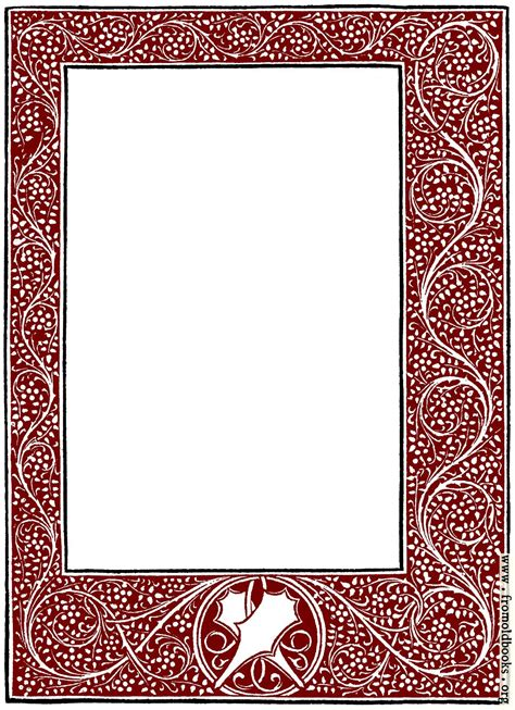 full page foliated border