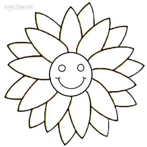 printable smiley face coloring pages  kids coolbkids