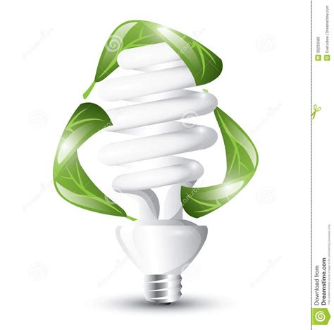 fluorescent lightbulb recycle stock photo image 30233580