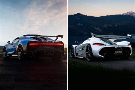 How does the bugatti chiron compare to the koenigsegg jesko? Design Battle: Bugatti Chiron Pur Sport v Koenigsegg Jesko   CarExpert