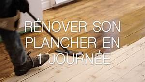 renover son plancher en 1 journee avec lhuile monocouche With renover un vieux parquet sans poncer