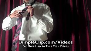 Full windsor knot with dimple imagemart halfwindsor knot dimpledfourinhand how to tie and dimple your necktie full windsor youtube ccuart Image collections