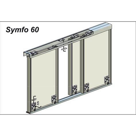 cache rail porte coulissante cache rail bas pour porte coulissante symfo 60 rob bricozor