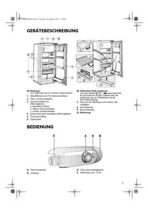 Kühlschrank Side By Side Weiß by Bauknecht Kvi 1399 A K 195 188 Hlschrank Handbuch In