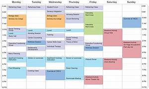 Example Student Schedule | Aspergers & LD Transition Programs
