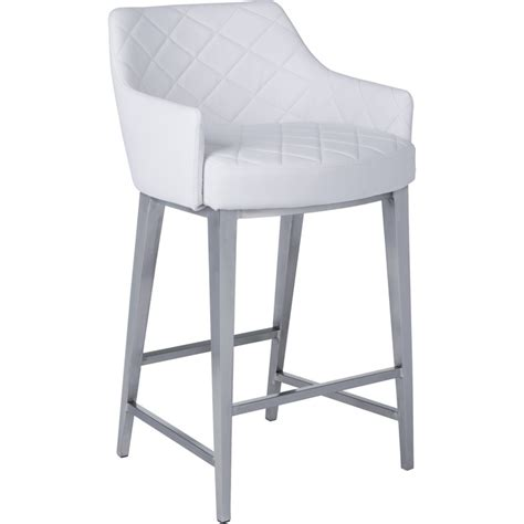 sunpan stools sunpan 40156 counter height stool in white