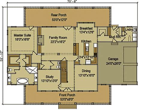 one floor home plans farmhouse architectural plans homes floor plans