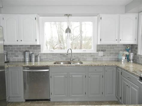 Next up, designs where the top and bottom cabinets are painted in different tones have become quite popular. Pin on Kitchen Design Trends