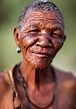 Old woman, Bushmen, Botswana | An old African woman from ...