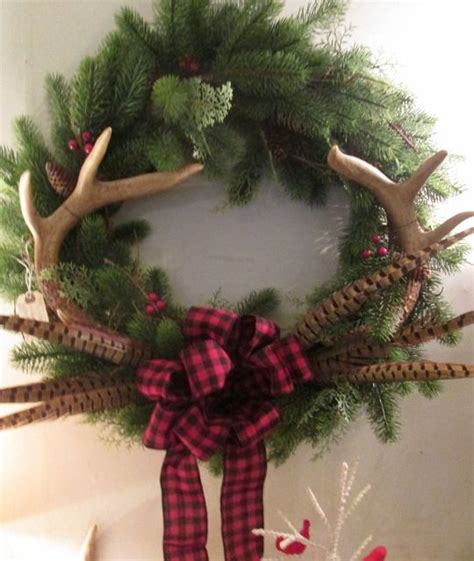 dts help desk wentworth 19 deer antler wreath made this seven new uses for