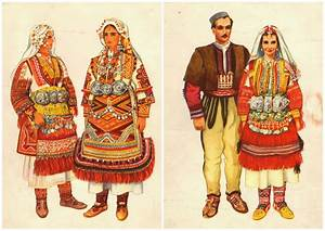 Little Treasures: Traditional Macedonian Folk Costumes